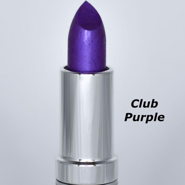 club purple lipstick