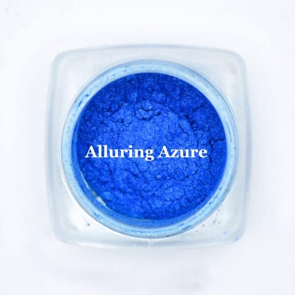 eye shadow alluring azure blue