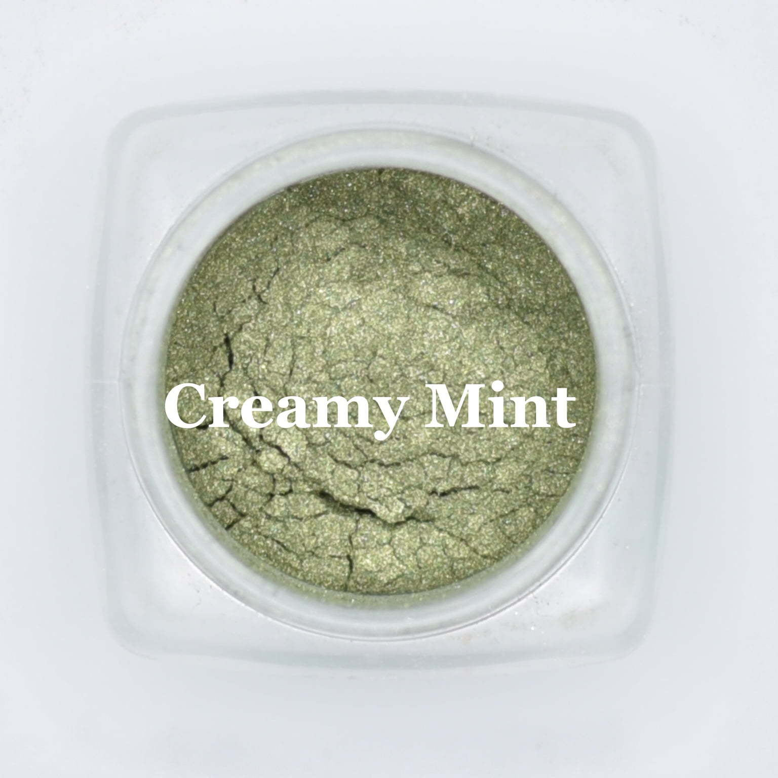 eye shadow creamy mint