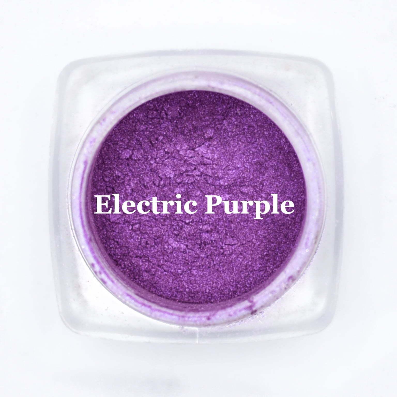 eye shadow electric purple