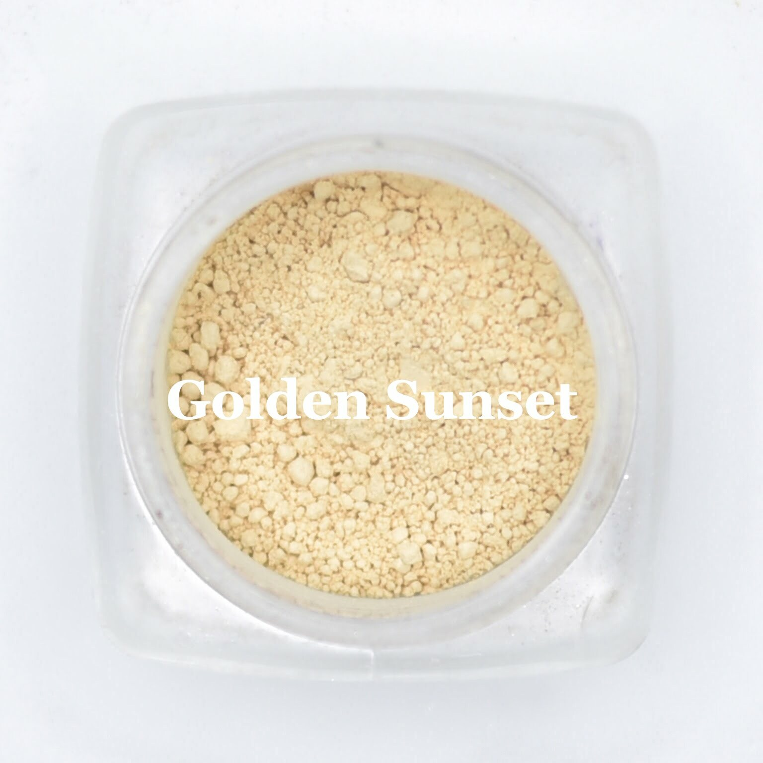 eye shadow golden sunset