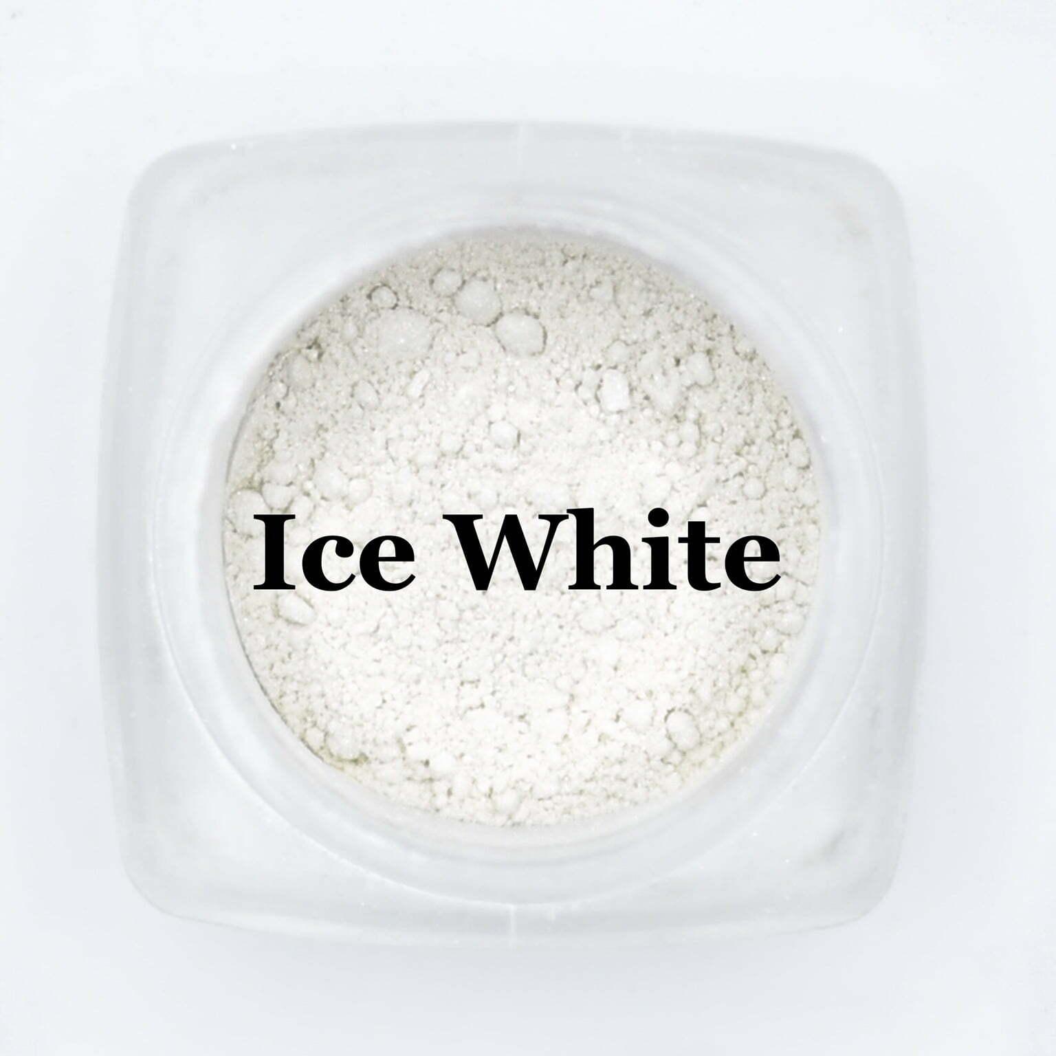 eye shadow ice white