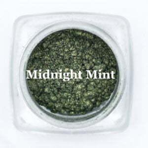 eye shadow midnight mint