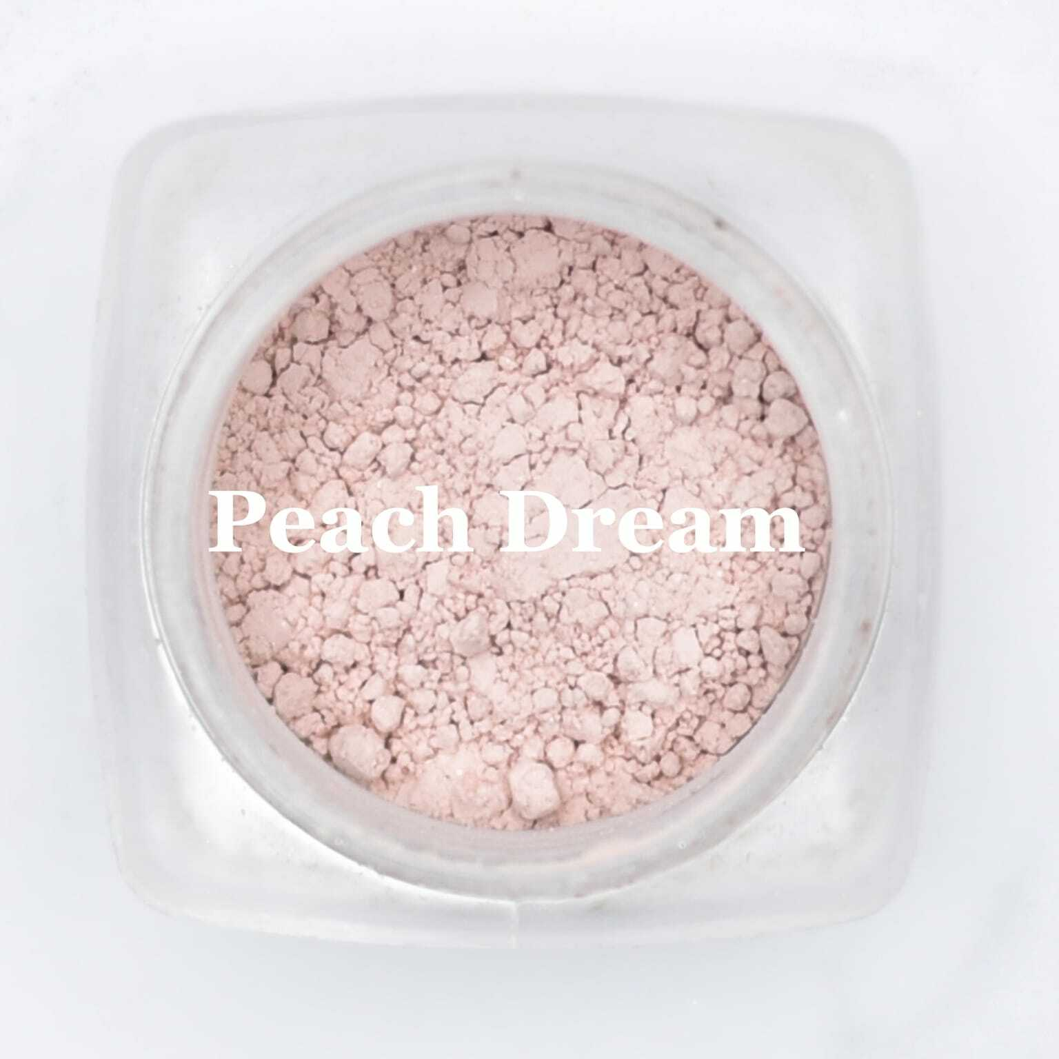 eye shadow peach dream