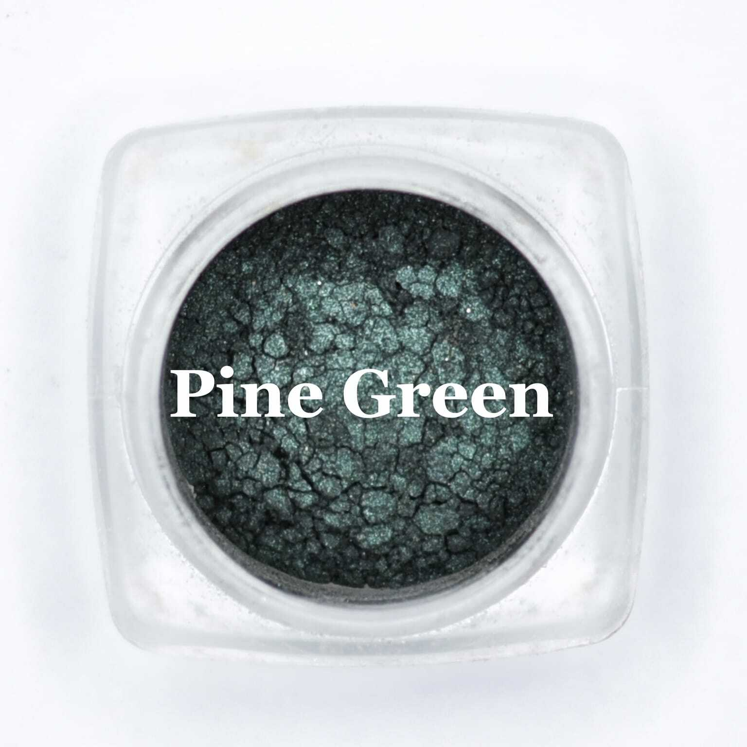 eye shadow pine green
