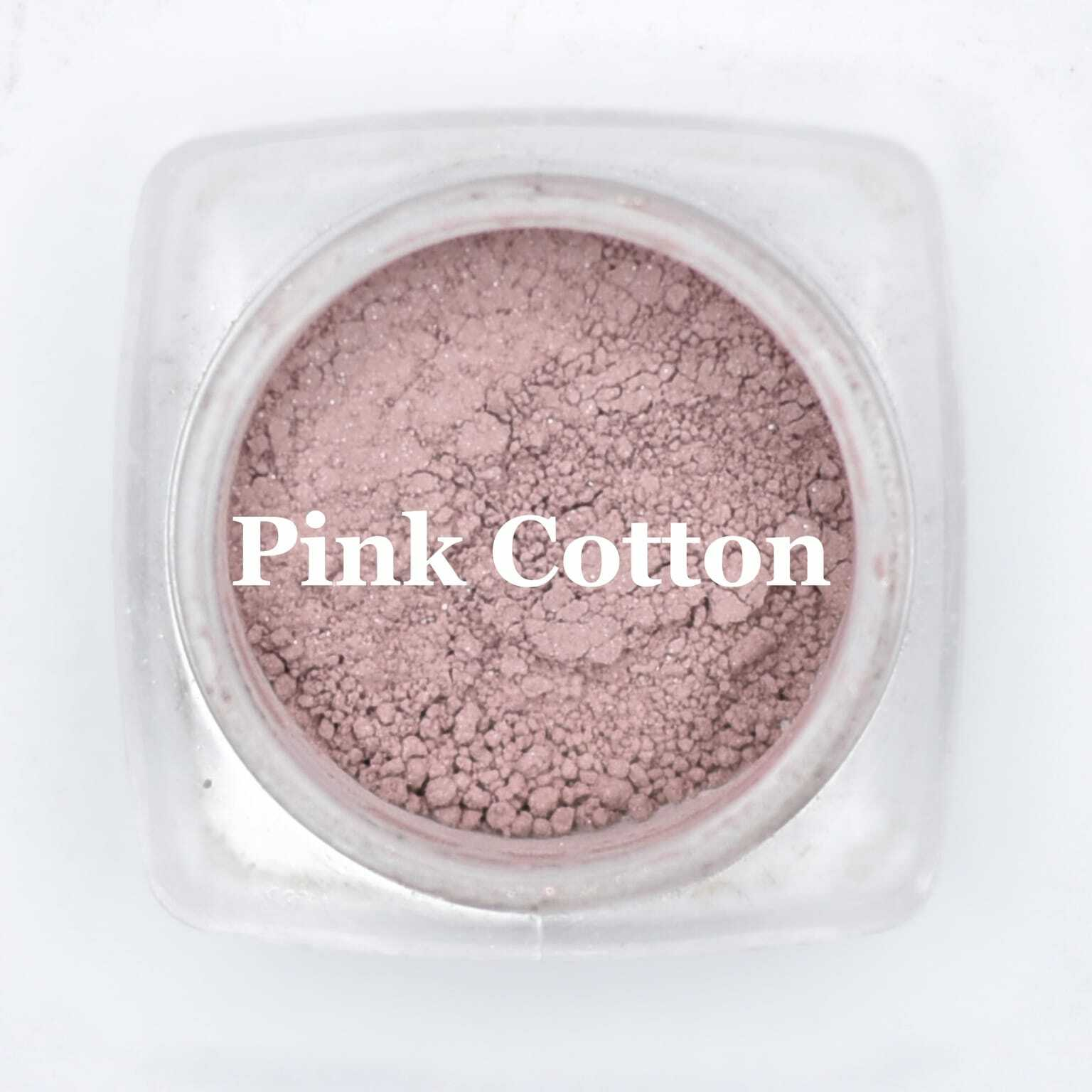 eye shadow pink cotton
