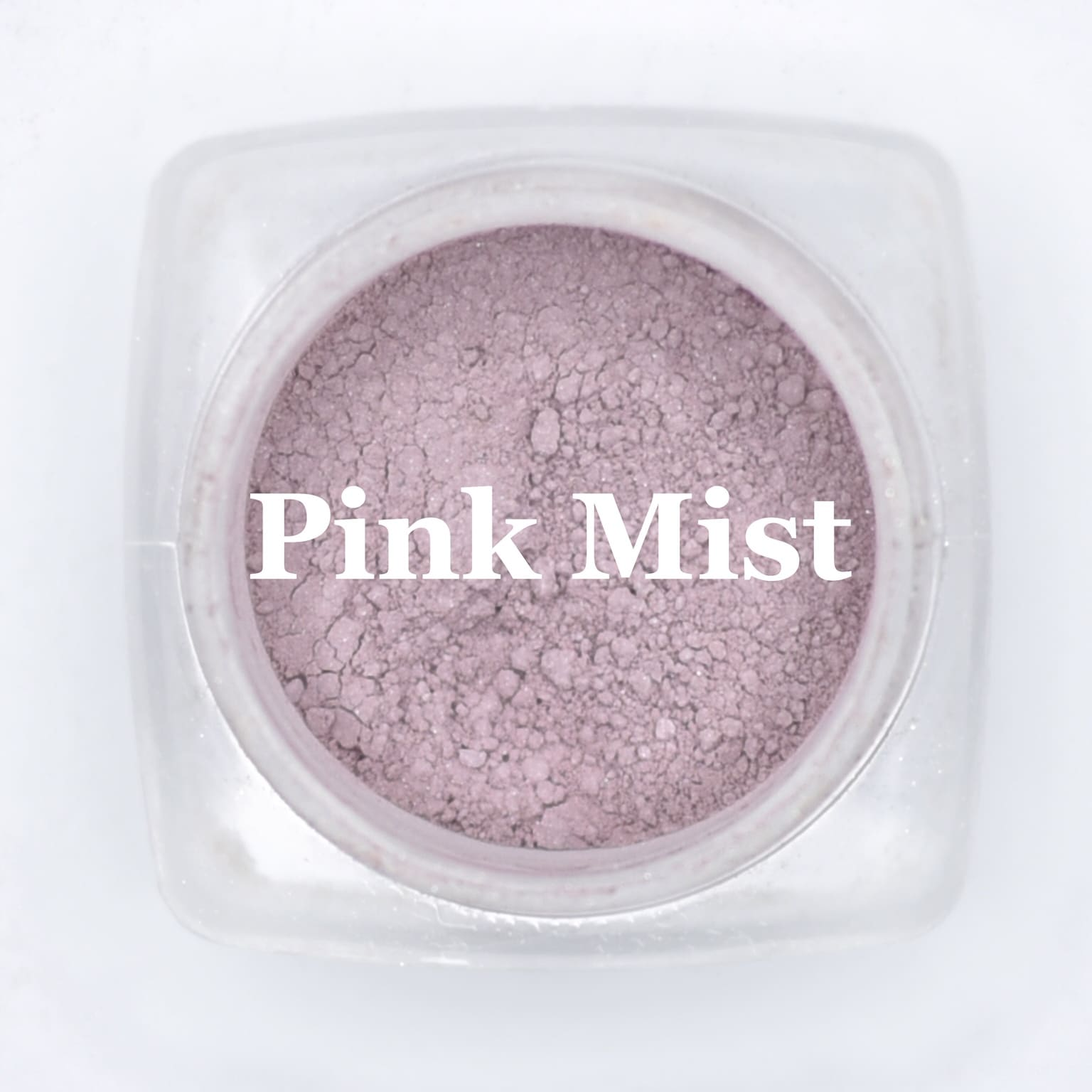 eye shadow pink mist