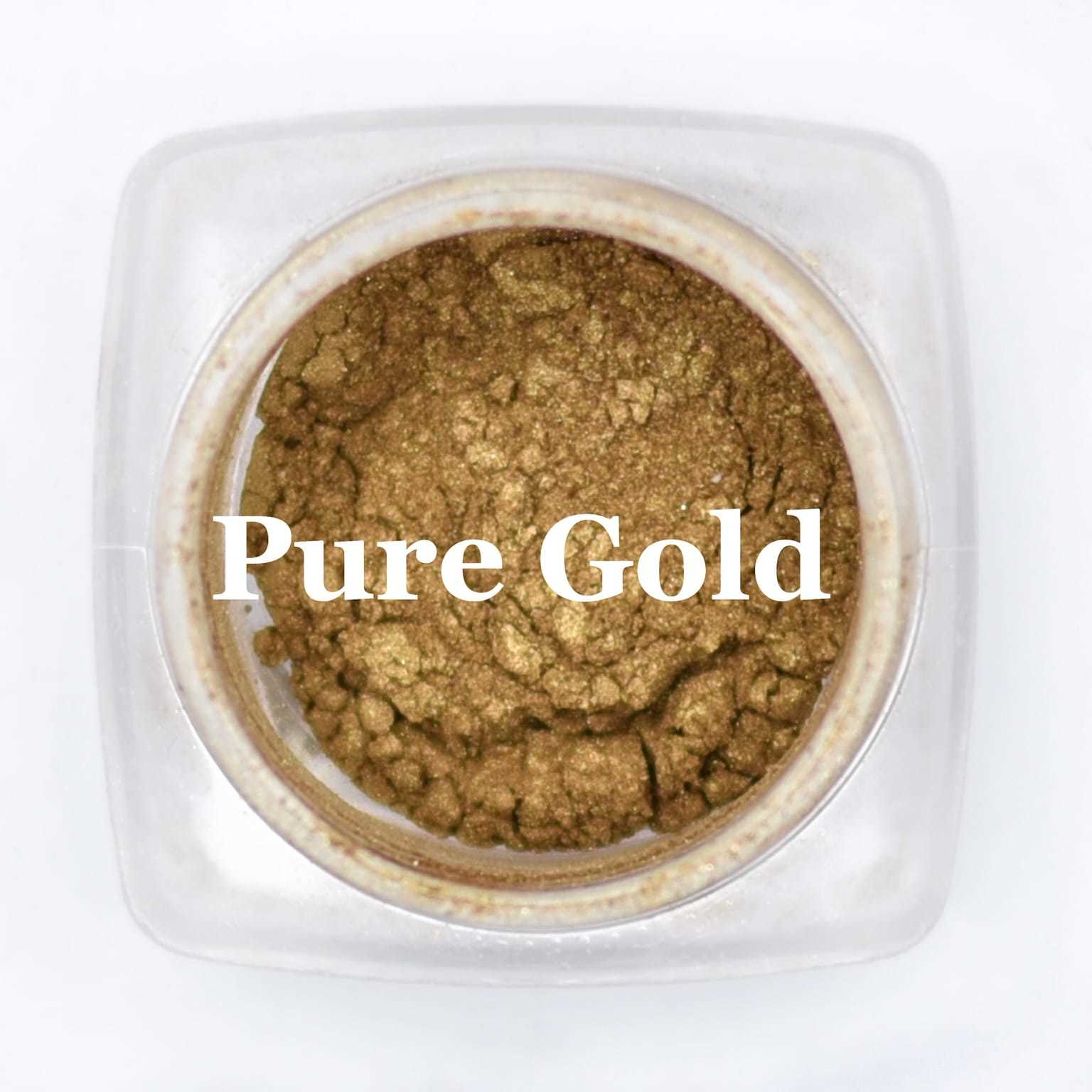 eye shadow pure gold