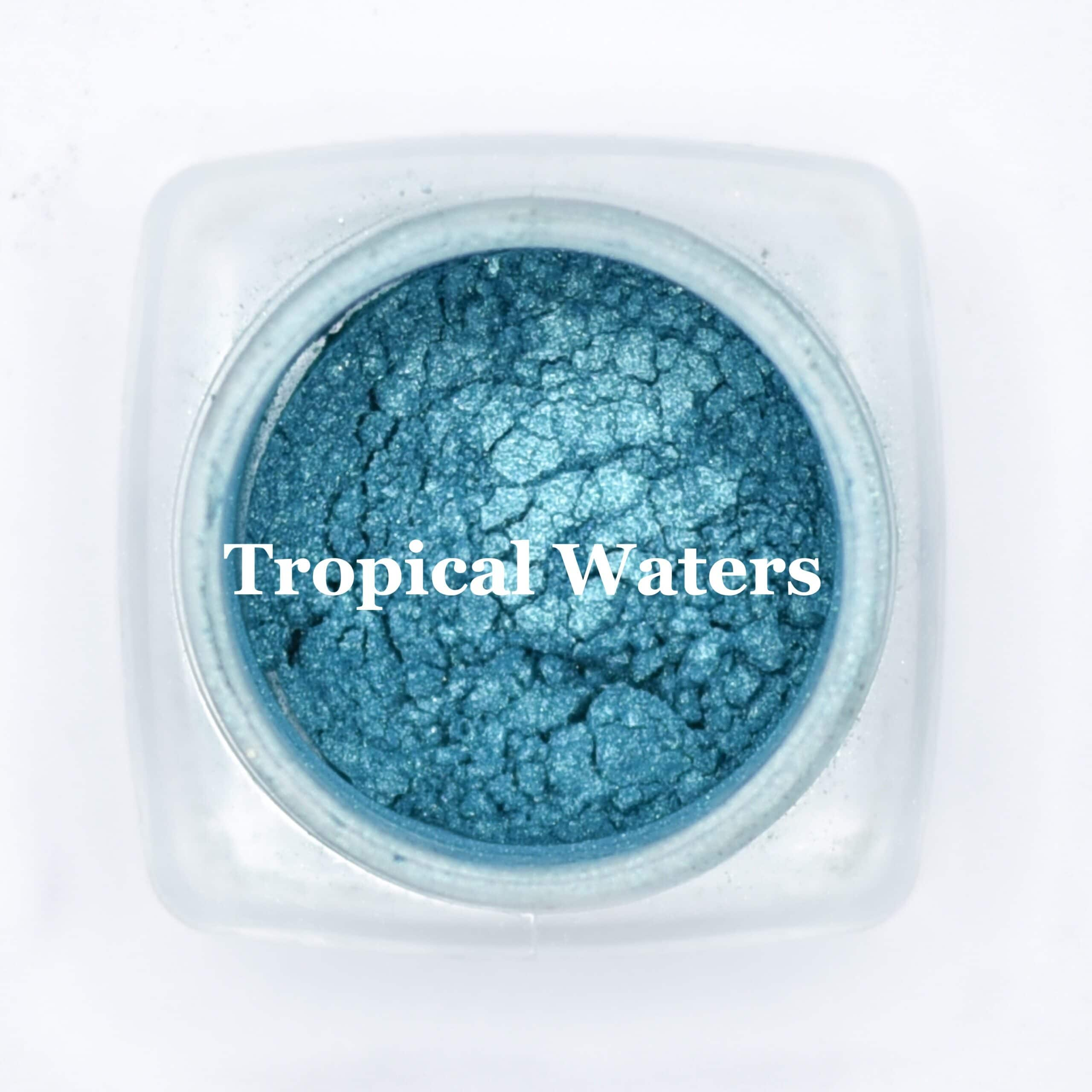 eye shadow tropical waters
