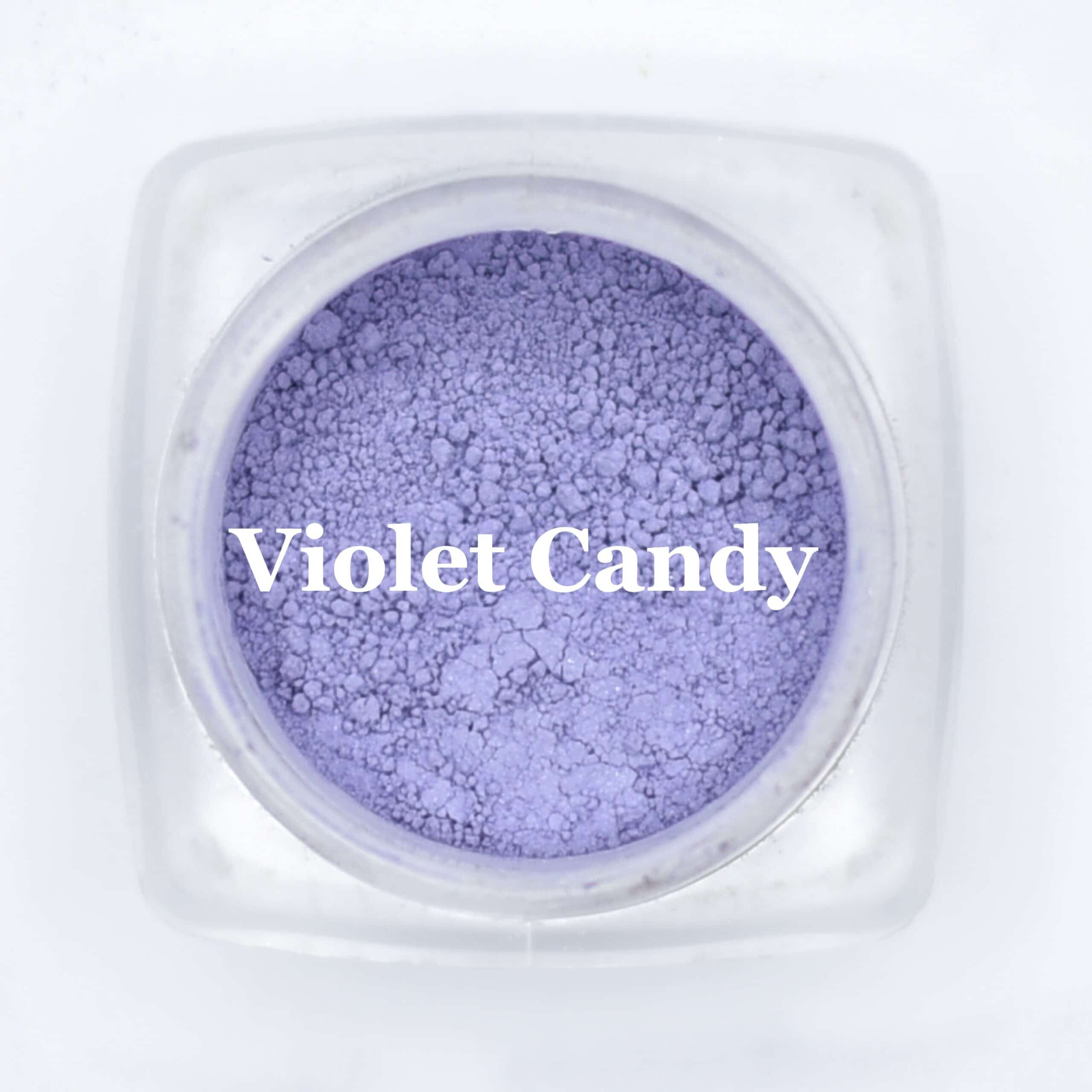 eye shadow violet candy