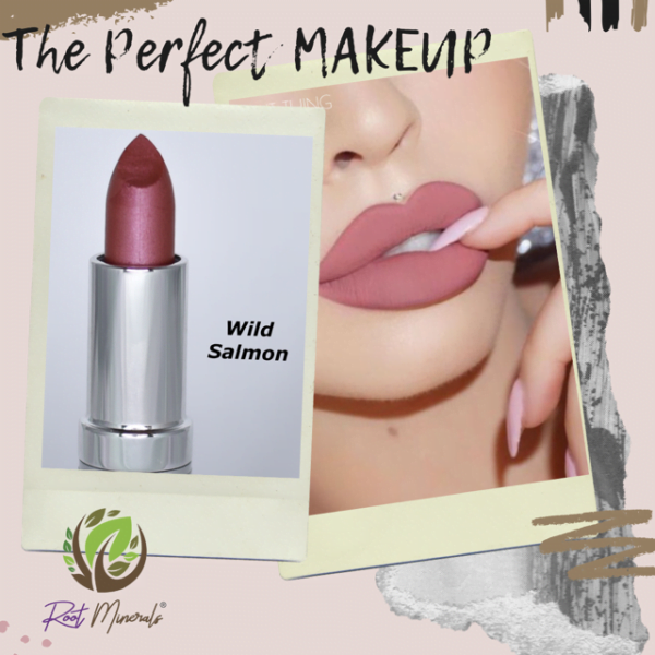 wild salmon natural vegan lipstick